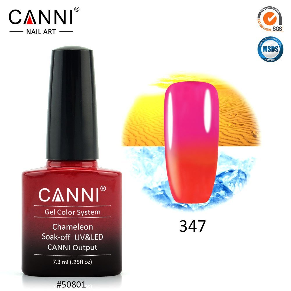 CANNI 7.3 ml UV Color Changing Gel Nail Polish, Set of 12 – CORTUNEX™
