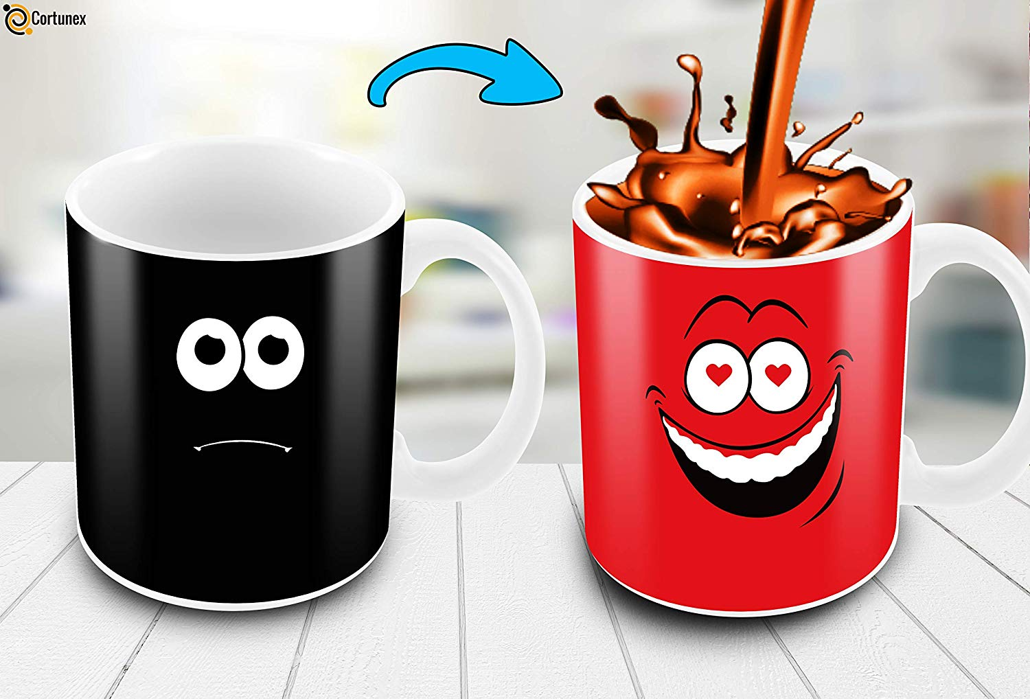 Red Falling In Love Funny Cup
