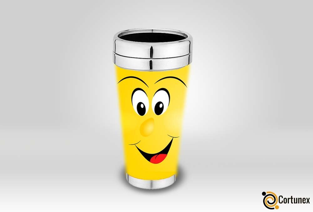 Magic Coffee Mugs Travel Mug Heat Sensitive Color Changing Stainless Steel Coffee Mug Good Gift Mug Funny Smiley Face Th B01N7NM81P 4