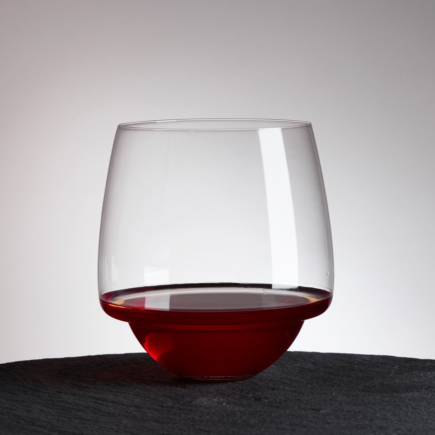 Saturn Wine Glass Unique And Elegant Spill Resistant Red
