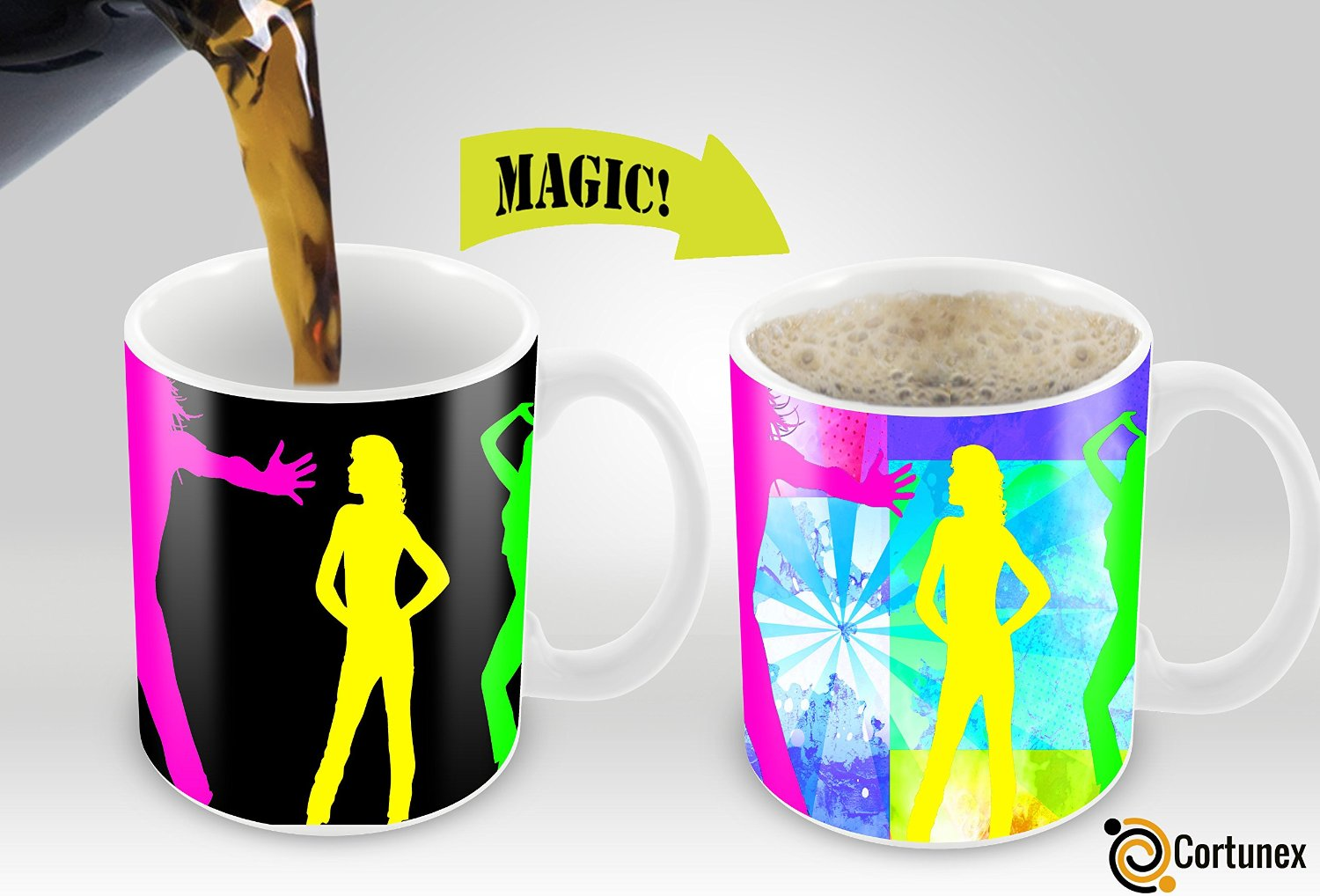 Coffee mugs unique - Variation 603161634444 Of Magic Mugs Amazing New Heat Sensitive Color Changing Coffee Mug Good Unique Gift