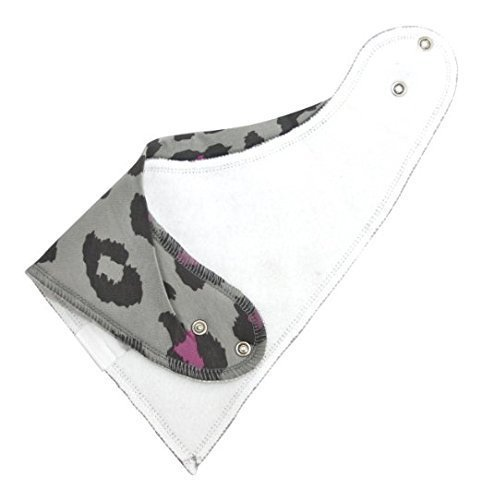 Baby Bandana Drool Bib Set Of 4Organic Super Absorbent Soft Chic Drooling And Teething Bibs B072MGP9P9 3