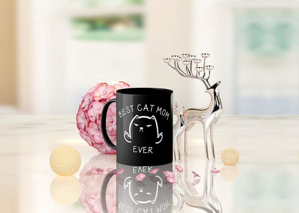 Best Cat Mom Ever Funny Coffee Mug Cat Middle Finger 11 Oz Birthday Gift For MotherMom Or Wife B079FYPL3B 5