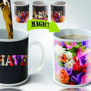 Cortunex | Amazing New Heat Sensitive Color Changing Coffee Mug | Good Gift Idea | Go Away Magic Mug 11oz