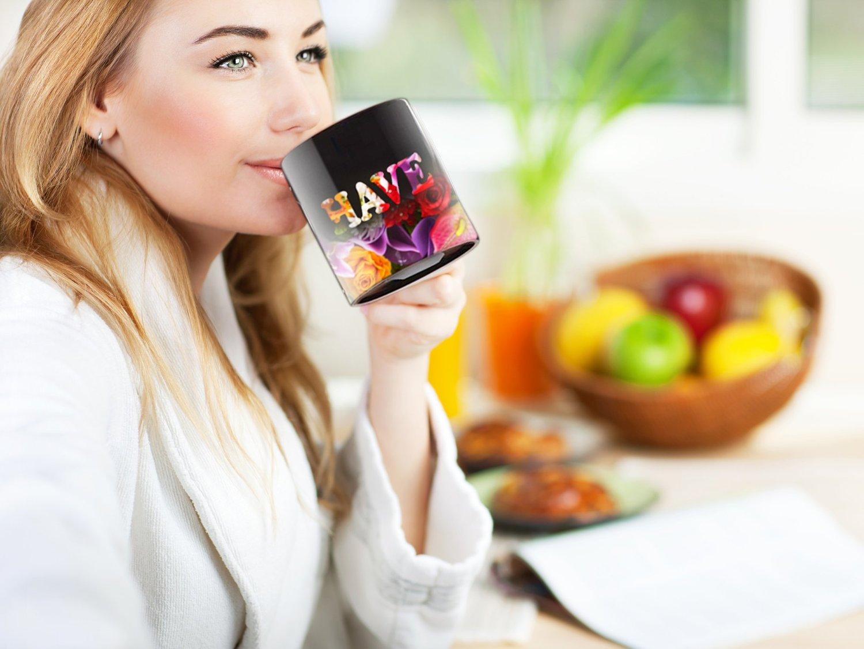 Cortunex Amazing New Heat Sensitive Color Changing Coffee Mug Good Gift Idea Go Away Magic Mug 11oz B01IPXRGAU 7