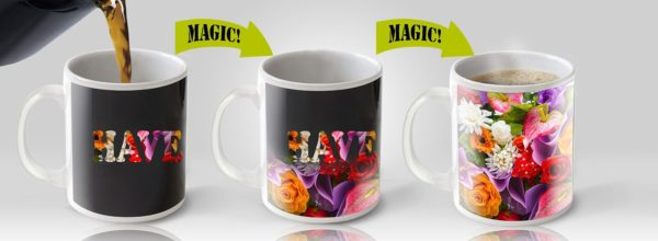 Cortunex Amazing New Heat Sensitive Color Changing Coffee Mug Good Gift Idea Go Away Magic Mug 11oz B01IPXRGAU 8