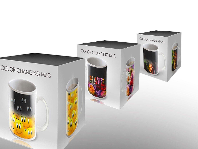 Cortunex Magic Travel Mug Amazing New Heat Sensitive