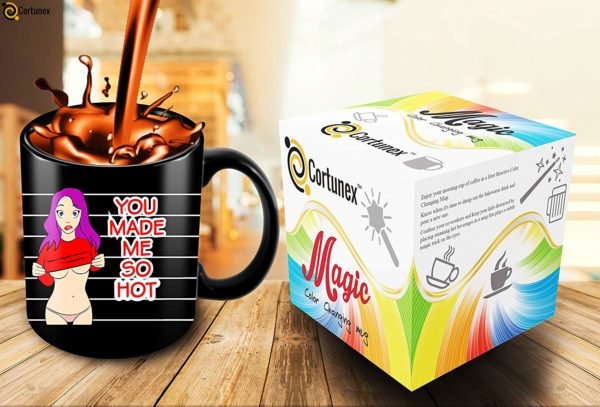 Heat Sensitive Color Changing Coffee Mug Funny Coffee Cup Hot Girl Design Funny Gift Idea B07D21CPTQ 7