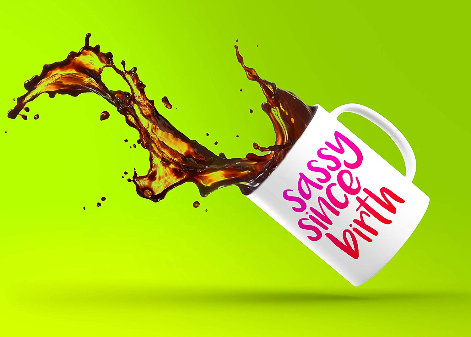 Sassy Since Birth Heat Sensitive Coffee Mug