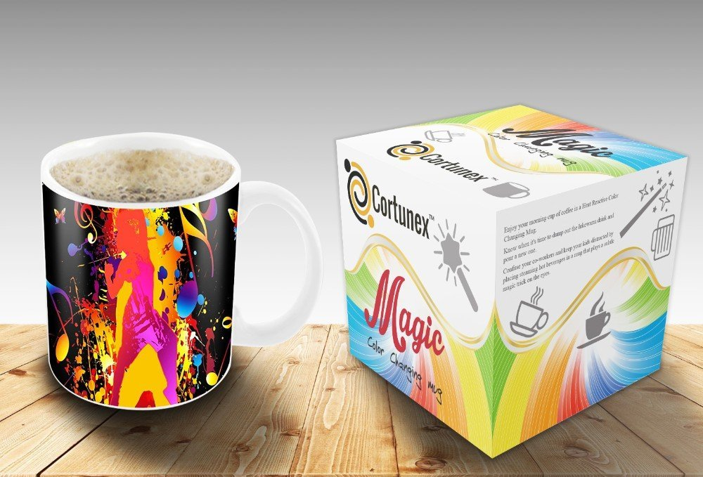 Magic Coffee Mugs Travel Mug Heat Sensitive Color Changing Stainless Steel Coffee Mug Good Gift Mug Funny Smiley Thermos B01MRQY023 2