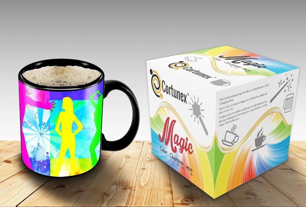 Magic Coffee Mugs Travel Mug Heat Sensitive Color Changing Stainless Steel Coffee Mug Good Gift Mug Funny Smiley Thermos B01MZYS145 2
