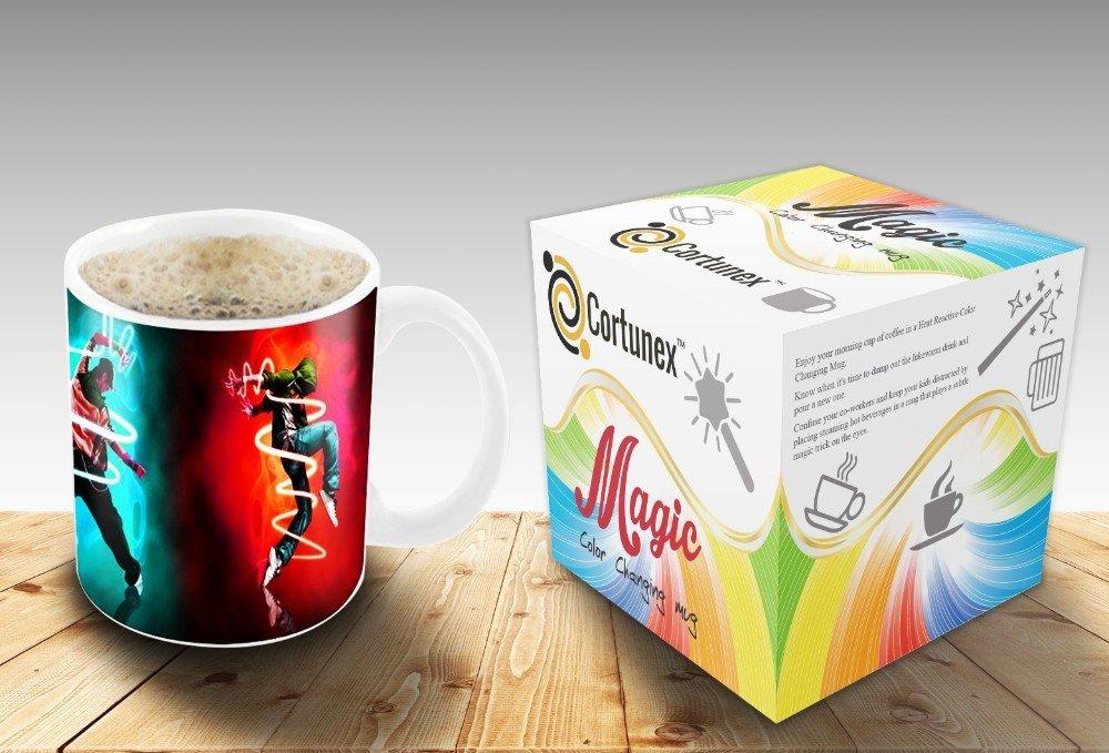Magic Coffee Mugs Travel Mug Heat Sensitive Color Changing Stainless Steel Coffee Mug Good Gift Mug Funny Smiley Thermos B01N0KCJ8Q 2