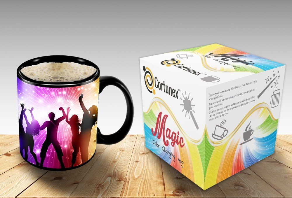 Magic Coffee Mugs Travel Mug Heat Sensitive Color Changing Stainless Steel Coffee Mug Good Gift Mug Funny Smiley Thermos B01N58UG2O 2