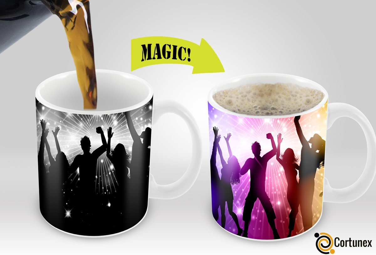 Variation 603161634390 Of Cortunex Amazing New Heat Sensitive Color Changing Coffee Mug Good Gift Idea Party Magic B01IPXRE9S 815
