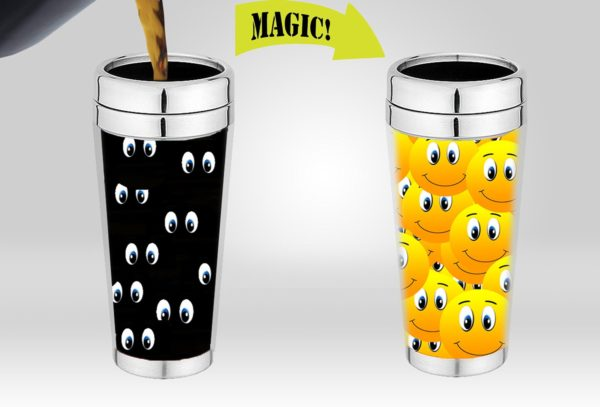 Variation DI B50J 4OMI Of Cortunex Magic Travel Mug Amazing New Heat Sensitive Color Changing Stainless Steel Coffee B01IPXR4UM 810